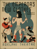 Emperors New Clothes Vintage Poster Wholesale Parking Sign P-1903