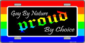 Gay By Nature Wholesale Metal Novelty License Plate LP-4712