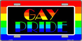 Gay Pride Wholesale Metal Novelty License Plate LP-4724