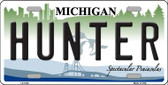 Hunter Michigan State Wholesale Metal Novelty License Plate LP-5100
