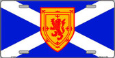 Scotland St Andrews Flag Wholesale Metal Novelty License Plate LP-522