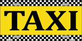 Taxi Wholesale Metal Novelty License Plate LP-5220