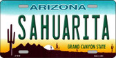 Sahuarita Arizona Novelty Wholesale Metal License Plate LP-5416