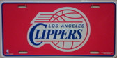 Los Angeles Clippers Wholesale Metal Novelty License Plate