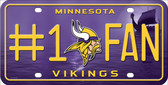 Minnesota Vikings Fan Wholesale Metal Novelty License Plate
