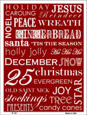 Red Holiday Wrap Wholesale Metal Novelty Parking Sign P-133