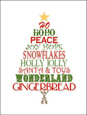 Christmas Tree Wholesale Holiday Metal Novelty Parking Sign P-134