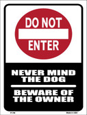 Do Not Enter Wholesale Metal Novelty Parking Sign P-700