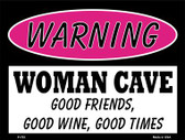 Good Friends Good Wine Wholesale Metal Novelty Parking Sign P-753