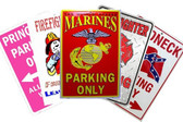Sample Pack 25 Best Sellers Wholesale Metal Parking Signs Sign-Pack-01