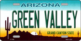 Green Valley Arizona Novelty Wholesale Metal License Plate