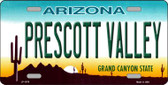 Prescott Valley Arizona Novelty Wholesale Metal License Plate