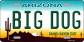Big Dog Arizona Novelty Wholesale Metal License Plate