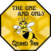Queen Bee Wholesale Metal Novelty Octagon Stop Sign BS-357