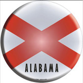 Alabama State Flag Wholesale Metal Circular Sign