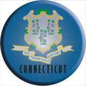 Connecticut State Flag Wholesale Metal Circular Sign