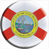 Florida State Flag Wholesale Metal Circular Sign
