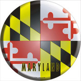Maryland State Flag Wholesale Metal Circular Sign