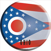Ohio State Flag Wholesale Metal Circular Sign