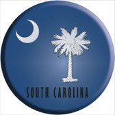 South Carolina State Flag Wholesale Metal Circular Sign