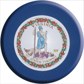 Virginia State Flag Wholesale Metal Circular Sign