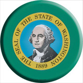 Washington State Flag Wholesale Metal Circular Sign