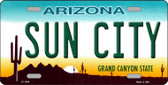 Sun City Arizona Novelty Wholesale Metal License Plate