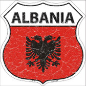 Albania Country Flag Highway Shield Wholesale Metal Sign