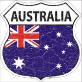 Australia Country Flag Highway Shield Wholesale Metal Sign