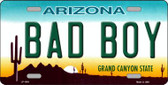 Arizona Bad Boy Novelty Wholesale Metal License Plate