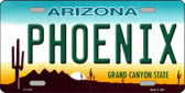 Phoenix Arizona Novelty Wholesale Metal License Plate