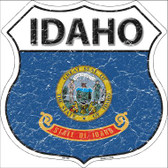 Idaho State Flag Highway Shield Wholesale Metal Sign