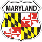 Maryland State Flag Highway Shield Wholesale Metal Sign