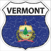 Vermont State Flag Highway Shield Wholesale Metal Sign