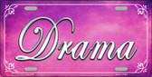 Drama Novelty Wholesale Metal License Plate