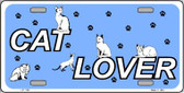 Cat Lover Novelty Wholesale Metal License Plate LP-1162