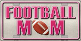Football Mom Novelty Wholesale Metal License Plate