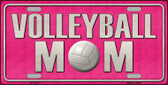 Volleyball Mom Novelty Wholesale Metal License Plate