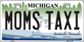 Moms Taxi Michigan Wholesale Metal Novelty License Plate LP-6118