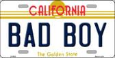 Bad Boy California Novelty Wholesale Metal License Plate LP-6838