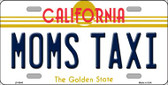 Moms Taxi California Novelty Wholesale Metal License Plate LP-6845