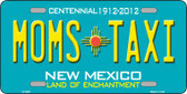 Moms Taxi New Mexico Novelty Wholesale Metal License Plate LP-6687