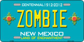 Zombie New Mexico Novelty Wholesale Metal License Plate LP-6696