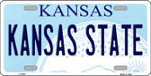 Kansas State Novelty Wholesale Metal License Plate LP-6601