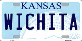 Wichita Kansas Novelty Wholesale Metal License Plate LP-6602