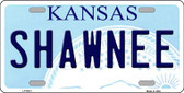 Shawnee Kansas Novelty Wholesale Metal License Plate LP-6613