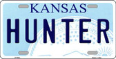 Hunter Kansas Novelty Wholesale Metal License Plate LP-6620
