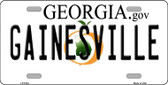 Gainesville Georgia Novelty Wholesale Metal License Plate