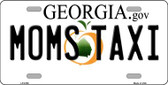 Moms Taxi Georgia Novelty Wholesale Metal License Plate