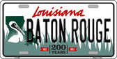Baton Rouge Louisiana Novelty Wholesale Metal License Plate